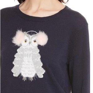 Kate Spade x Broome Street Owl Sweater